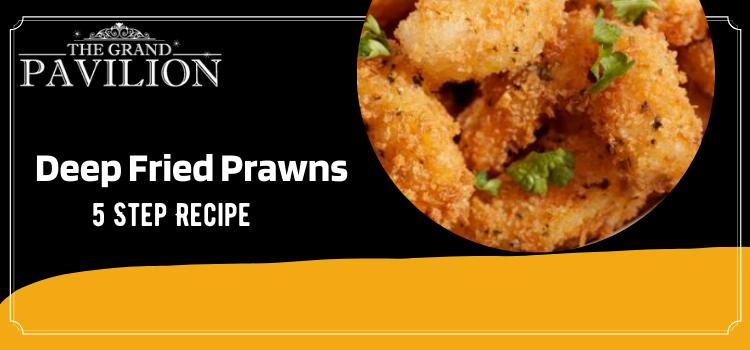Deep Fried Prawns - 5 Step Recipe